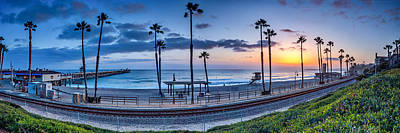 San Clemente In Pano Print by Peter Tellone