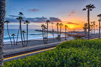 San Clemente Print by Peter Tellone