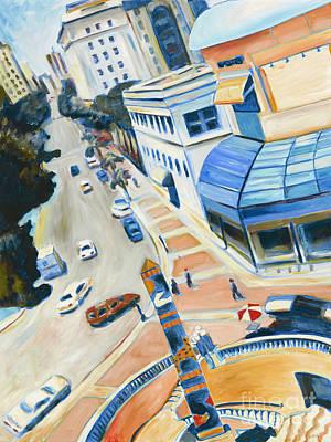 Mucha Painting - San Diego II by Sandra Mucha