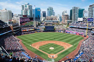 San Diego Padres Stadium Photograph - San Diego Padres by Robert VanDerWal