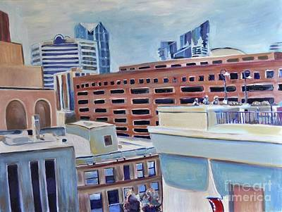 Architecture Painting - San Diego  by Sandra Mucha