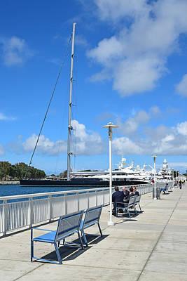 San Diego Embarcadero Park Photograph - San Diego South Embarcadero by Robert VanDerWal