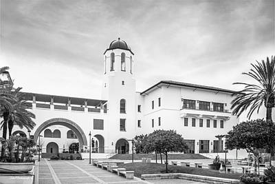 Student Union Photograph - San Diego State University Campus Center by University Icons