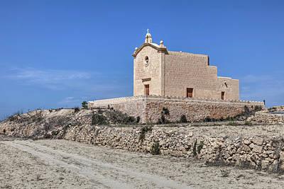 Malta Photograph - San Dimitri Chapel - Gozo by Joana Kruse