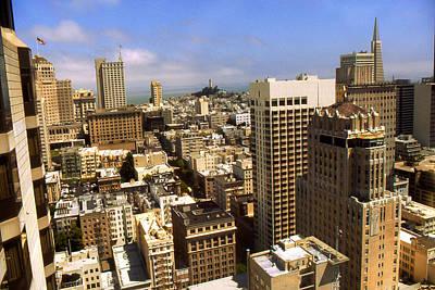 San Francisco Downtown - Photo Art Print by Art America Online Gallery