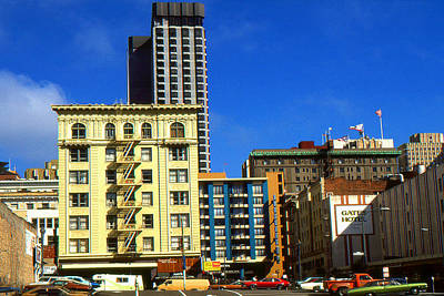 Framed Photograph - San Francisco Hotels - Photo Art by Art America Online Gallery