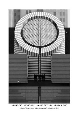 San Francisco Museum Of Modern Art Print by Mike McGlothlen