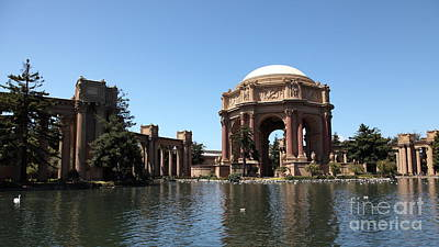 Wingsdomain Photograph - San Francisco Palace Of Fine Arts - 5d18061 by Wingsdomain Art and Photography