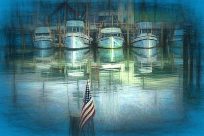 Alcatraz Drawing - San Francisco Pier by Michael Cleere