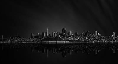 Mirror Photograph - San Francisco Space IIi by Juan Pablo De
