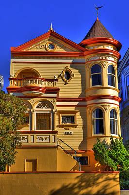 San Francisco Victorian Print by Paul Owen