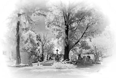 Ir Photograph - San Jose De Dios Cemetery by Sean Foster