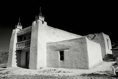 San Jose De Gracia Church Print by Steven Ainsworth