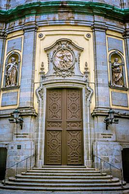 Portal Photograph - San Miguel Portal Madrid Spain by Joan Carroll