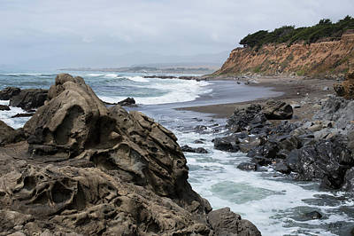 Cambria Photograph - San Simeon Ca Coastal I by David Gordon
