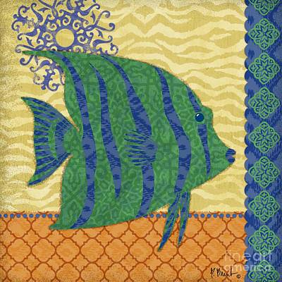 Ocean Turtle Painting - Sanctuary Bay Iv by Paul Brent