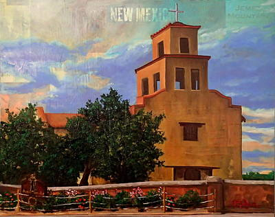Sanctuary Of Guadalupe Original by Katrina Rasmussen