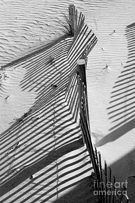 Sand Fences Photograph - Sand And Sun by Robert Meanor