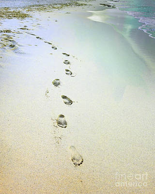Sand Between My Toes Print by Betty LaRue