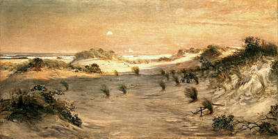 Henry Ossawa Tanner Painting - Sand Dunes At Sunset Atlantic City by Henry Ossawa Tanner