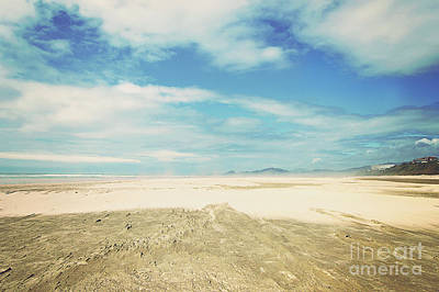 Photograph - Sand, Land, And Ocean by Janie Johnson