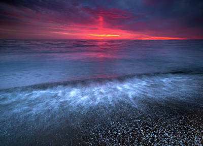 Sandpoint Sunrise  Print by Cale Best