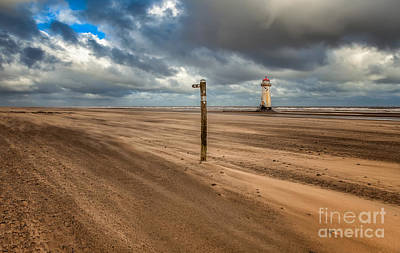 Talacre Photograph - Sands Of Time by Adrian Evans