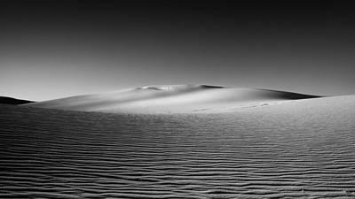 Windswept Photograph - Sandscape by Joseph Smith