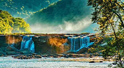 Mountains Photograph - Sandstone Falls West Virginia 2 by Steve Harrington