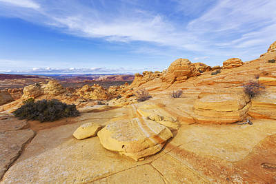 Buttes Photograph - Sandstone Wonders by Chad Dutson