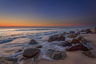 Sandy Hook At Sunrise Print by Rick Berk