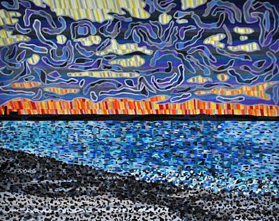 Sandy Neck Beach Print by Micah Mullen