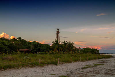 Lighthouses Photograph - Sanibel Island Ybel Light by J Darrell Hutto
