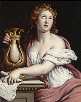 Sassoferrato Painting - Santa Cecilia by Sassoferrato