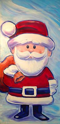 Santa Claus Print by Geoff Strehlow
