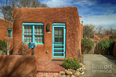 Mail Box Photograph - Santa Fe Impression 4 by Teresa Zieba