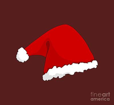 Santa Hat Original by Frederick Holiday