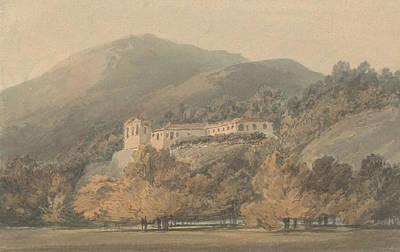 Santa Lucia A Convent Near Caserta Print by Joseph Mallord William Turner