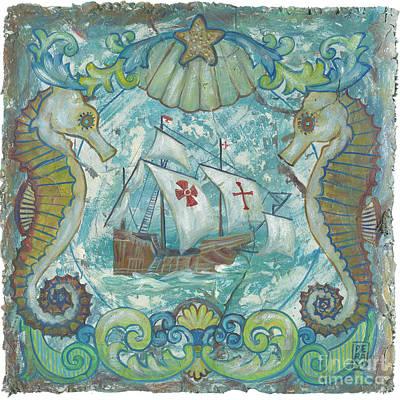 Santa Maria Print by Danielle Perry