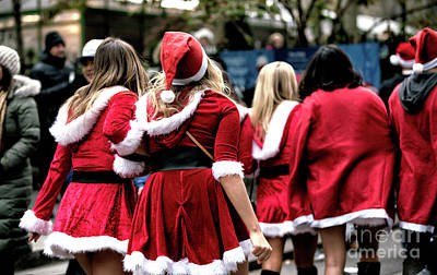 Photograph - Santa's Helpers by John Rizzuto