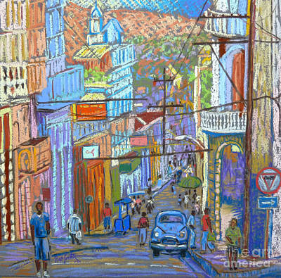 Santiago De Cuba Print by Rae  Smith PSC