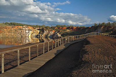 Alentejo Photograph - Sao Domingos Mine Walk In Mertola by Angelo DeVal