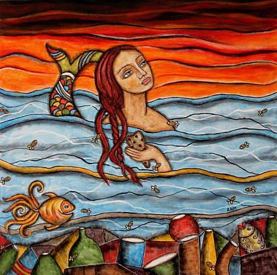 Sapphira Print by Rain Ririn