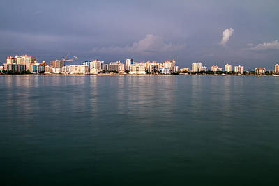 Outdoors Photograph - Cityscape - Sarasota Harbor 4 by J Darrell Hutto