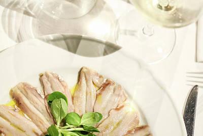 Sardines - Italian Recipe Print by Stefano Benanti