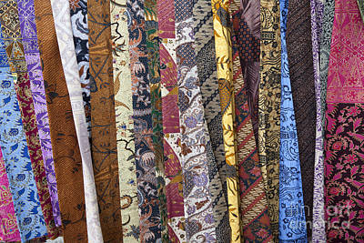 Batik Photograph - Sarongs, Bali, Indonesia by Picture Partners
