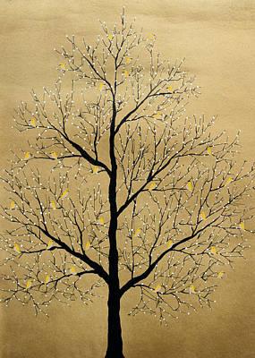Abstract Painting - Sarvana Vriksha by Sumit Mehndiratta