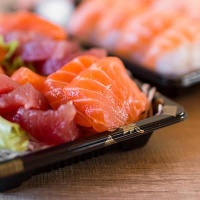 Extreme Restaurant Photograph - Sashimi by Germano Poli