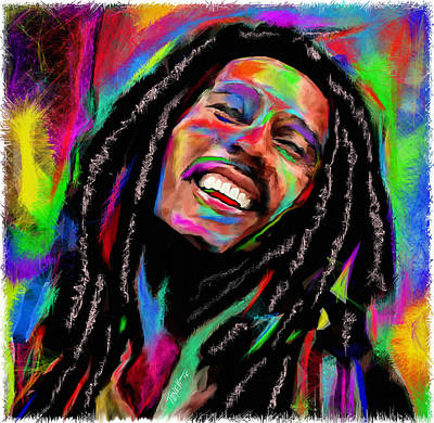 Jamaican Art Painting - Satisfy My Soul... by Mark Tonelli