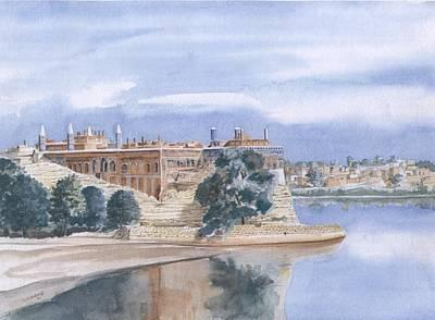 Sattaein Jo Aastan Print by Sajjad Musavi